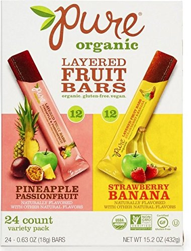 Pure Organic Layered Fruits - Delicious Snacks For Kids