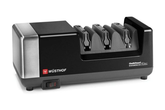 Wusthof 3-stage PEtec Electric Knife Sharpener - Electric Knife Sharpeners