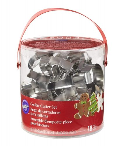 Wilton Holiday Shapes Cookie Cutter Set - Christmas Cookie Cutters