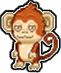 A Red Monkey?