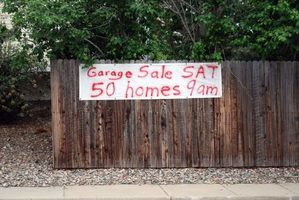 Zeiger's sign on the subdivision back fence in 2010 #fantasticdrivel