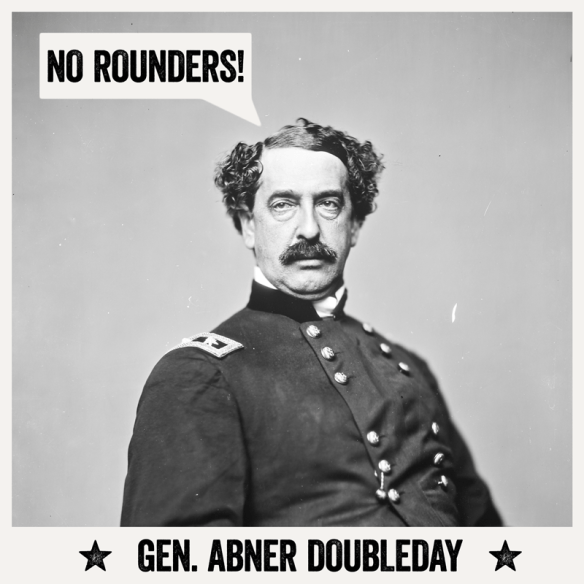 general abner doubleday, the father of baseball