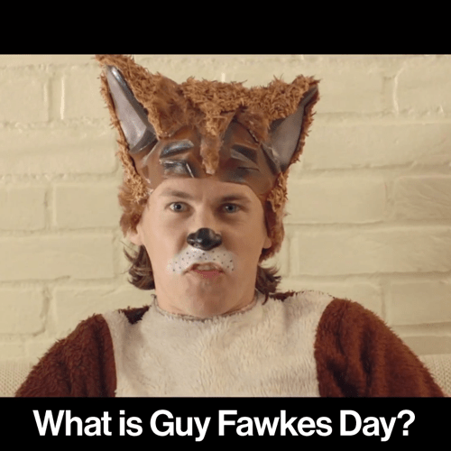 "Bard Ylvisaker (of Ylvis): ""What is Guy Fawkes Day?"" #fantasticdrivel #ylvis #guyfawkesday #thefox"