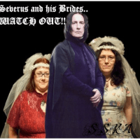 """There was a group of middle aged women called """"Snapists"""" who believed that they were married to Severus Snape on the 'astral plane' and that he controlled their lives. An independent researcher published an in-depth paper on the matter."""