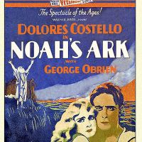 In the movie Noah's Ark, filmed in 1928, the flood scene at the movie's climax was created by actually dumping 600,000 gallons of water onto the set. Three extras drowned and many suffered broken bones. This led to the introduction of safety regulations for movie stunts in 1929.