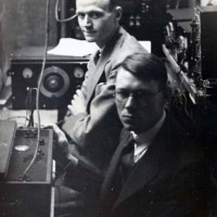 "Meet the ""Cat Telephone"". In 1929, Princeton researchers opened a cat's skull and connected the auditory nerve to a telephone. When one researcher spoke in the cat's ear, the other could hear it through the receiver 50 feet away. The experiment ultimately became the basis for cochlear implants."