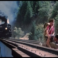 When he was a child, Stephen King witnessed one of his friends being killed by a train, though he has no memory of the event. His family told him that after leaving to go play with the boy, King returned, speechless and in shock. Only later did the family learn of the friend's death.