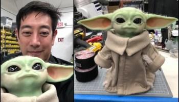 Grant Imahara Baby Yoda