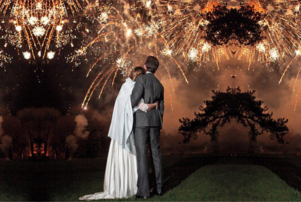 Professional fireworks displays | Wedding fireworks