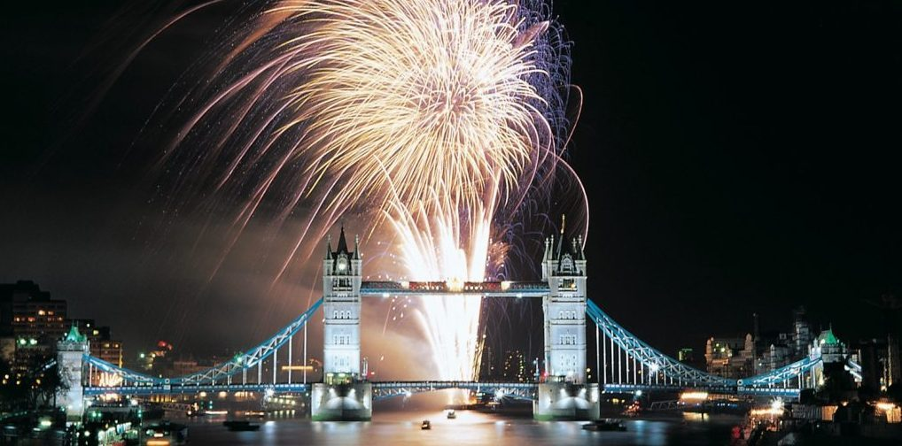 Professional Fireworks Displays | London New Year fireworks