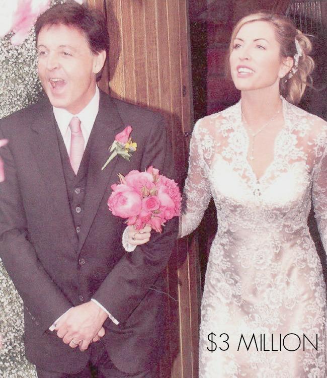 celebrity wedding Paul McCartney