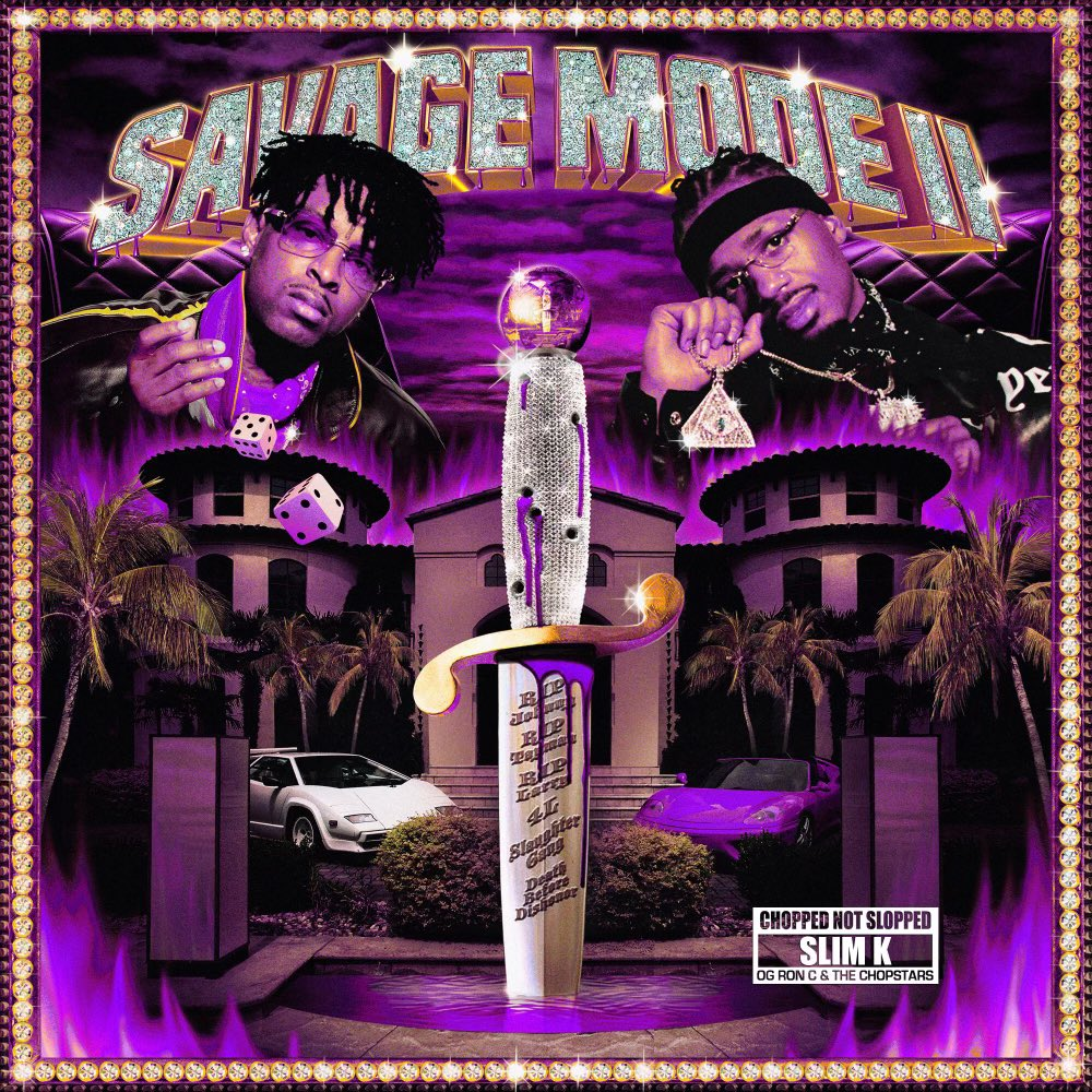 """21 Savage and Metro Boomin Release """"SAVAGE MODE II (CHOPPED NOT SLOPPED)"""""""