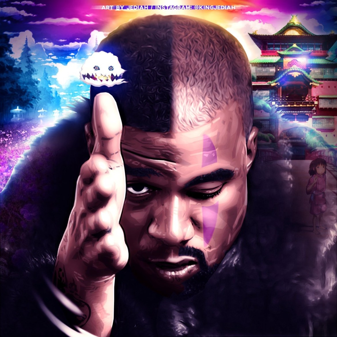 "Kanye West, Kid Cudi, & Michael Jackson- ""Can't Look In My Eyes"" (Leak)"