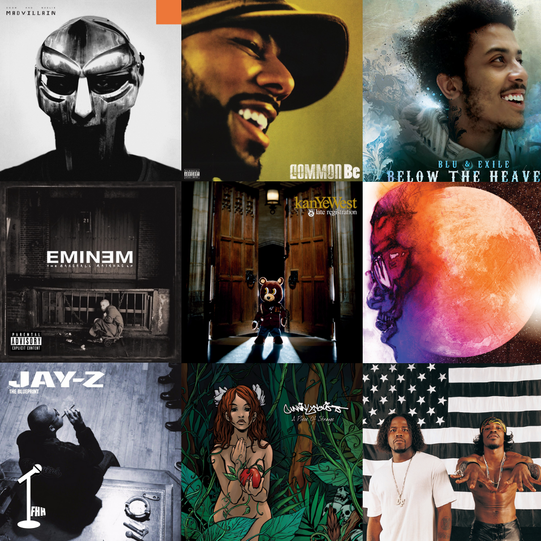 Top 50 Rap Albums of The 2000s (YouTube Video)
