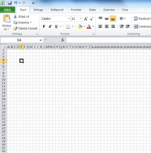 Göra eget mönster med hjälp av Excel - Del 2 Göra mönster