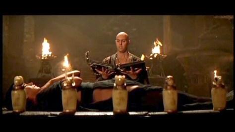 Imhotep e Anck su namun no filme A múmia (1999).