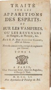 Dissertation sopra i vampiri