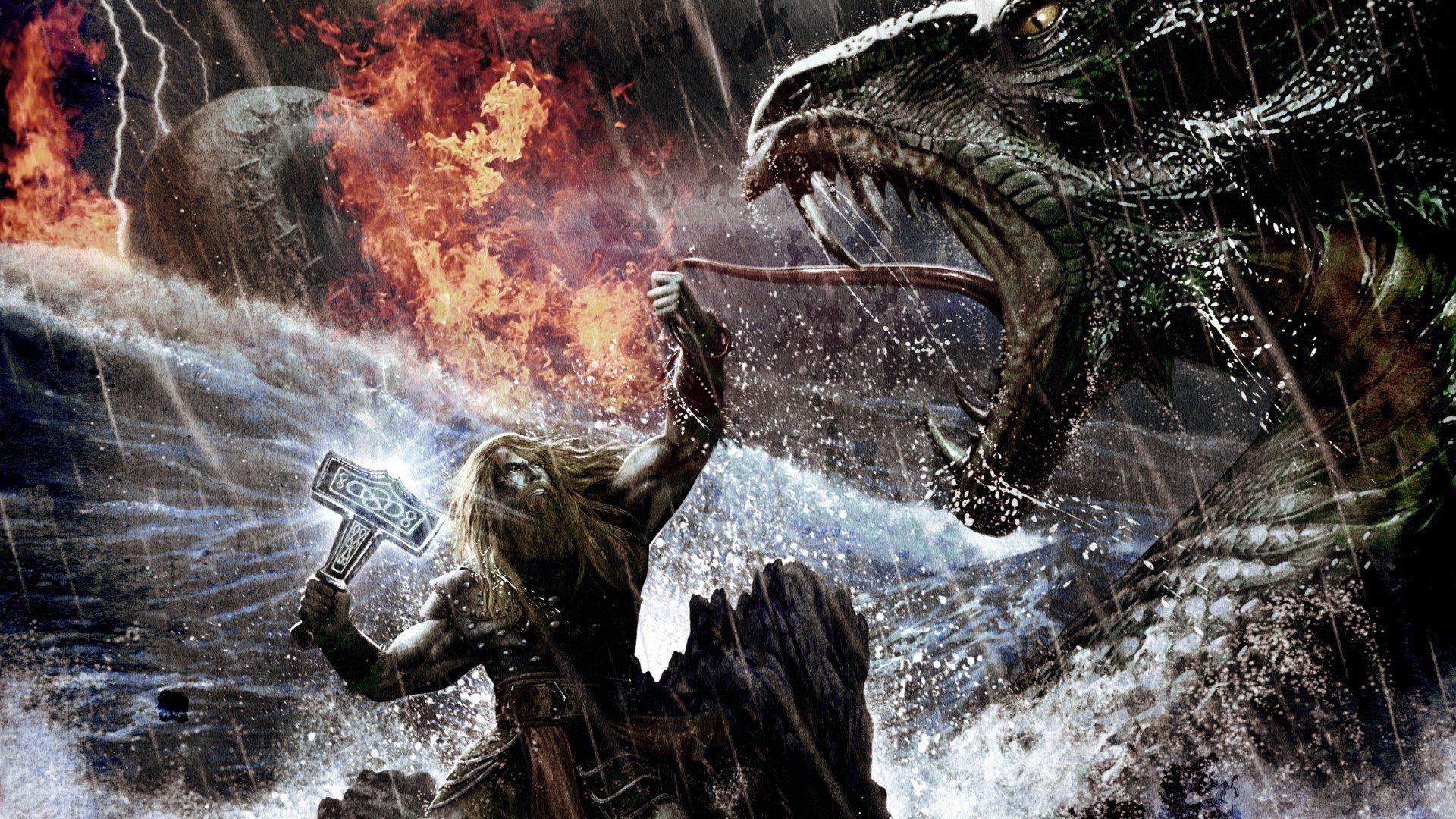Você conhece os 4 deuses da Mitologia Nórdica que fazem o seu dia?