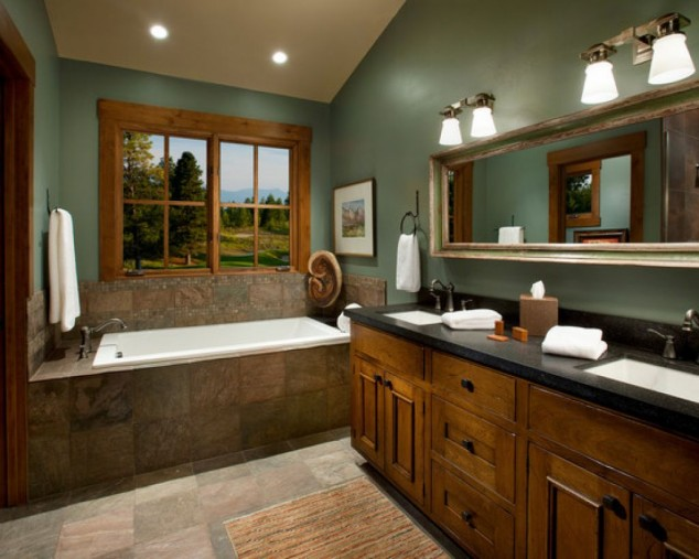 10 Amazing Rustic Bathroom Design Ideas