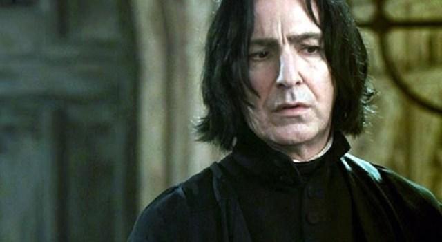 Harry Potter Serisini Bir de Severus Snape'in Gözünden Okuyalım! –  Fantastik Canavarlar