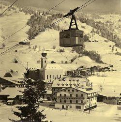 Gondel in seizoen 1959/1960