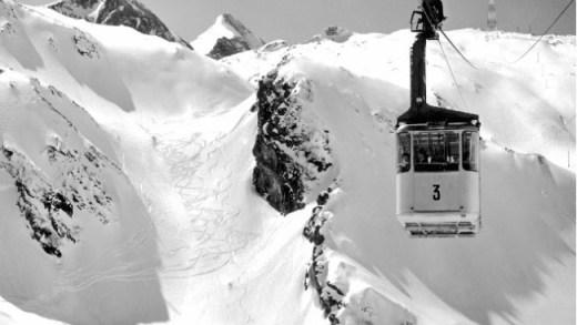 1e Gletsjerbahn 1965