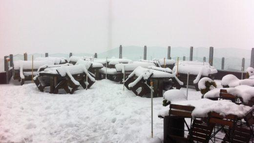 Hopfgarten sneeuwval 23 sept 2015