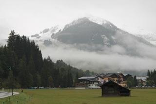 Saalbach september sneeuw