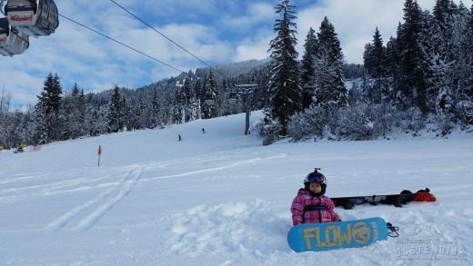 Snowboardster Naomi