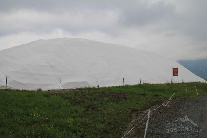 Sneeuwdepot Hahnenkamm