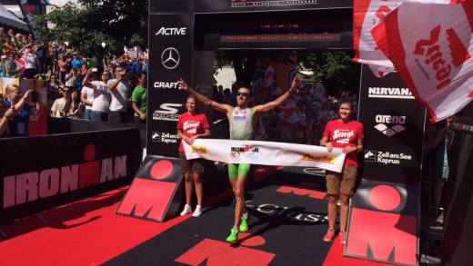 Ironman 70.3 Zell am See 2016 Finish 2016