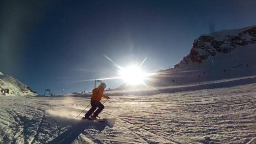 Morgen de mooiste skidag van het seizoen