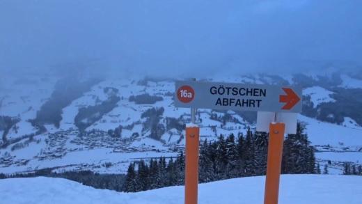 Götschenafdaling Brixen im thale