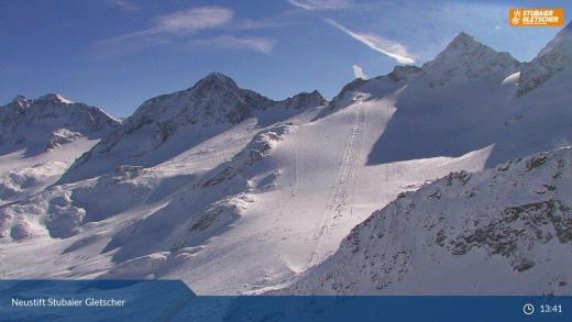 Stubaier gletsjer 7 feb 2017