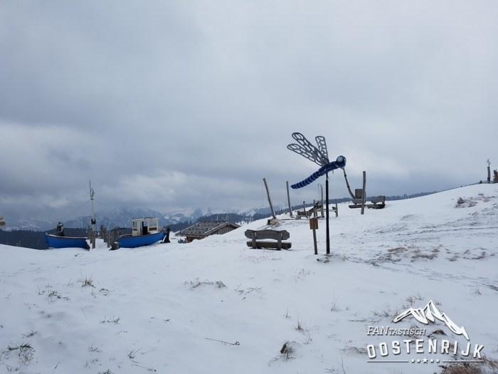 Ellmau laatste winterdag