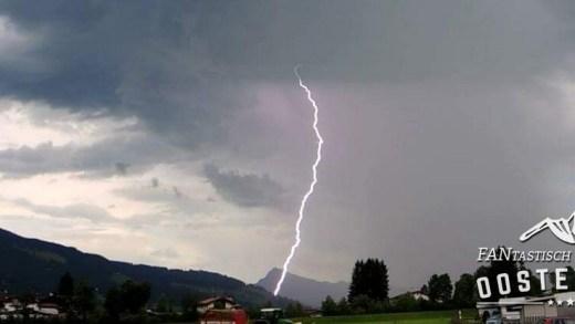 Brixen im Thale Onweer
