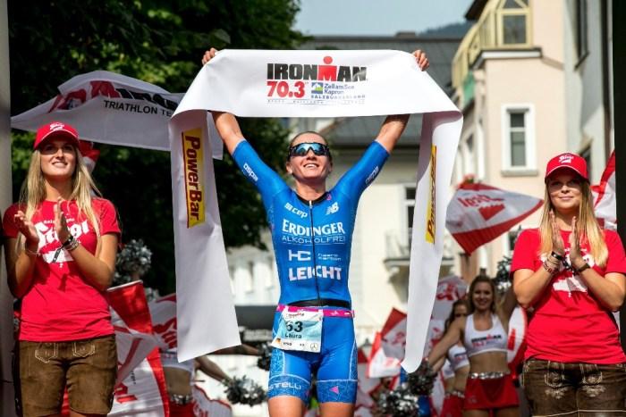 IRONMAN Dames winnaar Laura Philipp