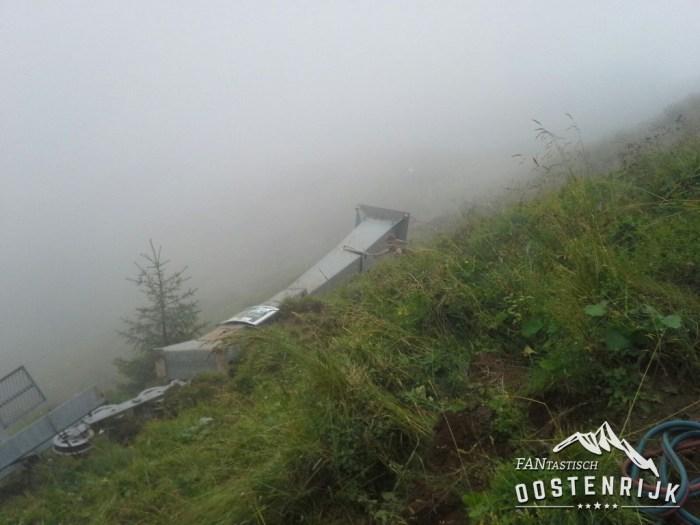 Kitzbühel Jufen afbreken lift
