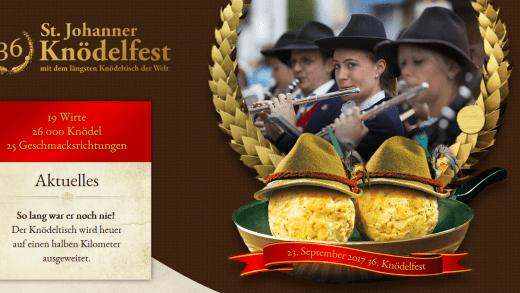 St Johann Knodelfest