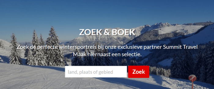 Summit Travel Zoek en Boek