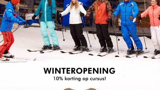 Snowworld Winteropening korting op training