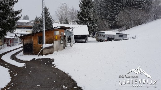 CampingWelt Brixen im Thale in November Winters