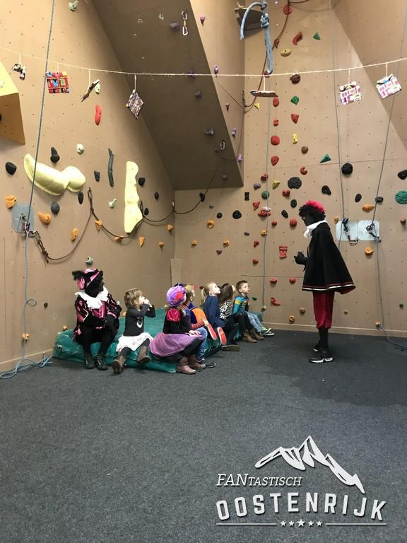 Zwarte Piet klimwand