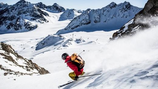 skier pitztal gletsjer