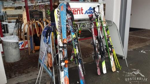 Ski's in rek Turner Ski