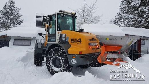 Volgende week sneeuw tot in Innsbruck en Salzburg?