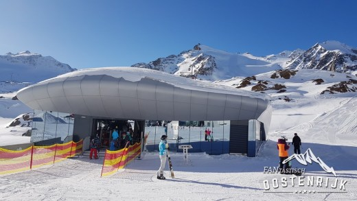 Pitztaler Gletsjer de afdalingen VIDEO