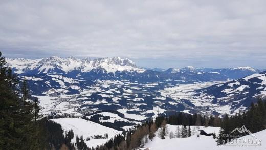 Kitzbuhel Streiff uitzicht op Wildenkaiser