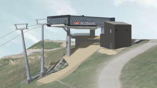 Leogang Muldenbahn Bergstation