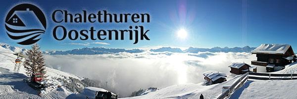 Banner Chalethuren Oostenrijk